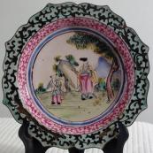 我收的景泰蓝MCH-1612-清画珐琅小碟