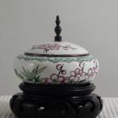 我收的景泰蓝MCH-1611-清画珐琅首饰盒