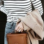 今年入手的第一只手袋,当然要是宋茜和刘雯的相机包!   大K 时尚芭莎