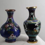 我收的景泰蓝MCH-1610-清掐丝珐琅花瓶