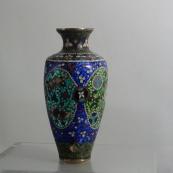 我收的景泰蓝MCH1632-伊斯兰国掐丝珐琅瓶