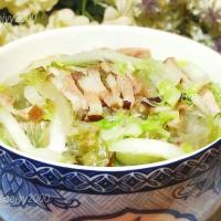 火腿咸肉白菜汤