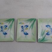 我收的景泰蓝WCH1638-日本七宝烧盘碟