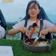 一顿饭1200元,谢娜差点连盘子都吃了
