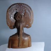 米国收的非洲木雕