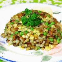 香草土豆玉米粒