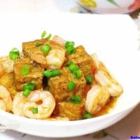 豆腐烩虾仁