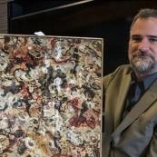 美私家车库中这幅神秘油画 估价超千万美元拍卖(图)