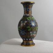 我收的景泰蓝MCH1616-清錾胎珐琅花瓶