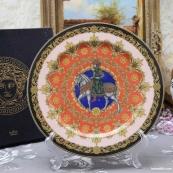 欧洲瓷器~德国名瓷|卢臣泰 Rosenthal VS Versace 1996年度纪念欣赏装饰大盘||文末的扩展阅读链接很好很强大