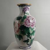 我收的景泰蓝MCH-1601-掐丝珐琅花瓶