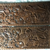 印度的双面木雕,宗教类