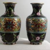 我收的景泰蓝MCH1615-清錾胎掐丝珐琅花瓶