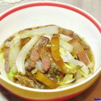 肉丝大白菜