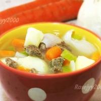 牛肉蔬菜汤