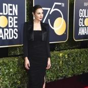 金球獎紅地毯颳黑色風暴 全體演員穿黑衣