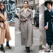 冬季穿搭首选束腰大衣,温暖凹造型其实没那么难  美搭刊