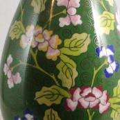 我收的景泰蓝MCH-1620-请外销掐丝珐琅花口瓶
