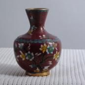 我收的景泰蓝MCH-1608-清掐丝珐琅花瓶