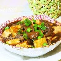 牛肉烩豆腐