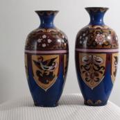 我收的景泰蓝MCH-1606-明外销掐丝珐琅花瓶