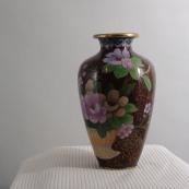 我收的景泰蓝MCH-1603-民国透明珐琅花瓶