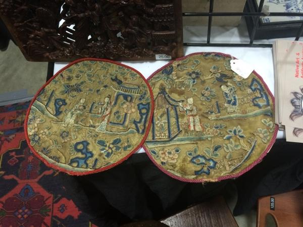 周末逛古董市场, 转了大半天就买了个CES小勺子