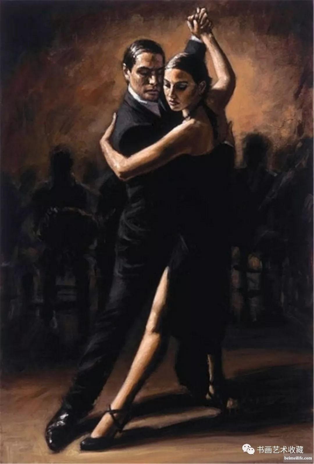 国外绘画:我看见我的灵魂     拥抱着芳香的身体