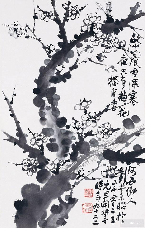 旅美华人第一代大画家---刘业昭作品欣赏