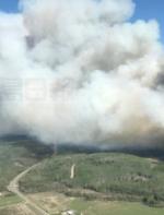 卑詩省中部山火 當局緊急疏散撤離