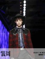 一群穿着 DSQUARED2 的牛仔男孩,点燃了米兰秀场 | 时装周