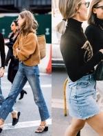人人都有的黑色打底衫,其实还能这样穿...||FashionWeek