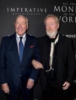 雷利史考特9天重拍《金钱世界》,老将克里斯多夫普拉玛获奥斯卡提名