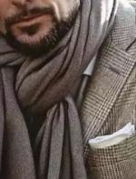 男生围巾的N种系法,你会几种!