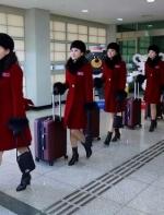 朝鲜美女拉拉队肤白貌美身材赞 韩国男人看呆了