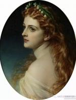 英国绘画:托马斯·弗朗西斯·迪克西描绘的美女