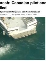惋惜|温哥华飞行员驾驶飞机坠毁!餐饮业巨头一家5口丧生!机上人员全部遇难! ...