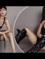 "Bella Hadid性感回归Giuseppe Zanotti2018春夏系列广告大片||外媒评""光看腿不看鞋了"""