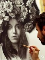 国外绘画:身体每一角度的反光    都高于芳香