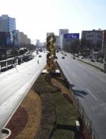 """诺大北京城现在又成了一座""""空城"""""""