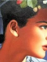 加拿大绘画:你青春的模样 美如麦田上的月光