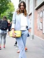 蓝+白,怎么穿都很美!