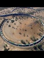 著名的加州铁路展线——特哈查比环线