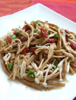 这才是金针菇最美味的吃法,别只会扔火锅里了!