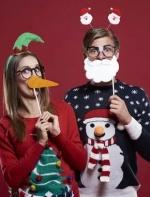 英国人穿了几百年的圣诞丑毛衣,今年怎么能被明星们穿得这么时髦?! ...||陈西西 时尚芭莎