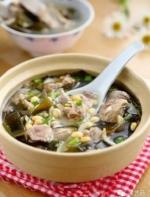 黄豆海带排骨汤,为家人分享