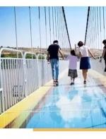 比张家界玻璃栈道恐怖10000倍,黄河3D玻璃桥,这次又又又要火了... ...