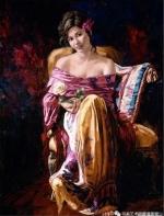 前南斯拉夫绘画:那时花香 琴声悠扬