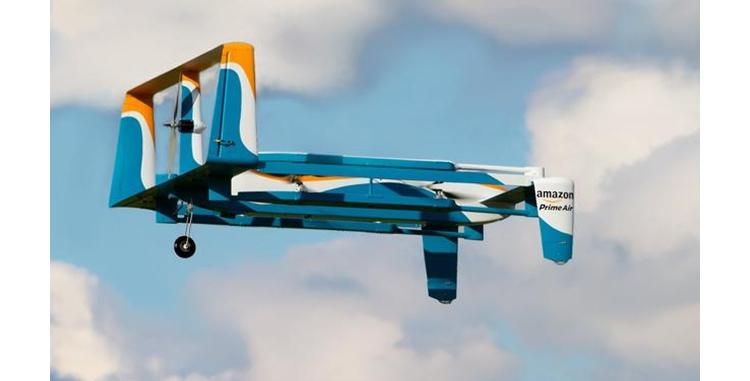 亚马逊无人机可以自动躲避障碍