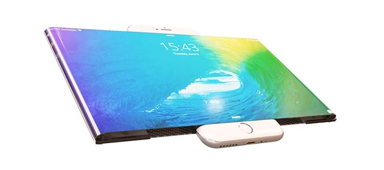像卷轴一样展开 最惊艳的iPhone7概念设计